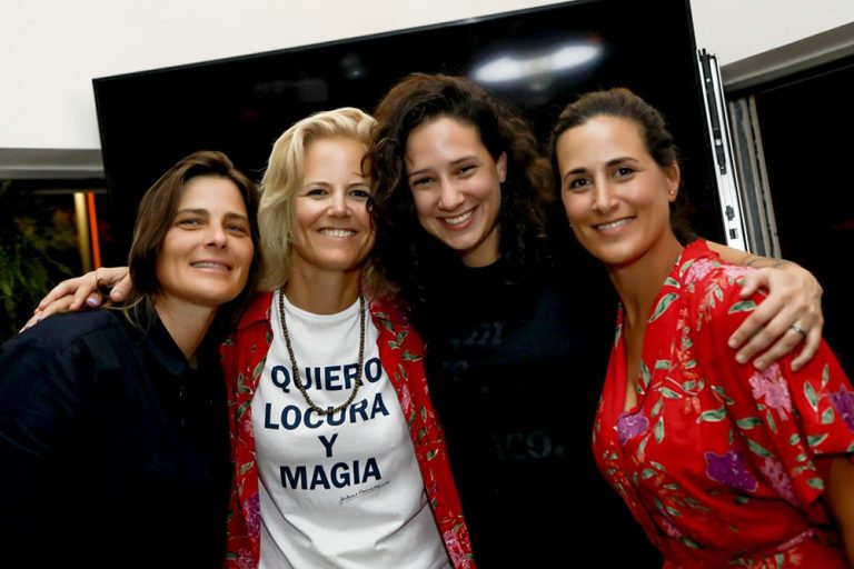 Four diverse womxn - Daniela Sea, Kristin Hansen, Monica Benicio, Yamila Di Santo