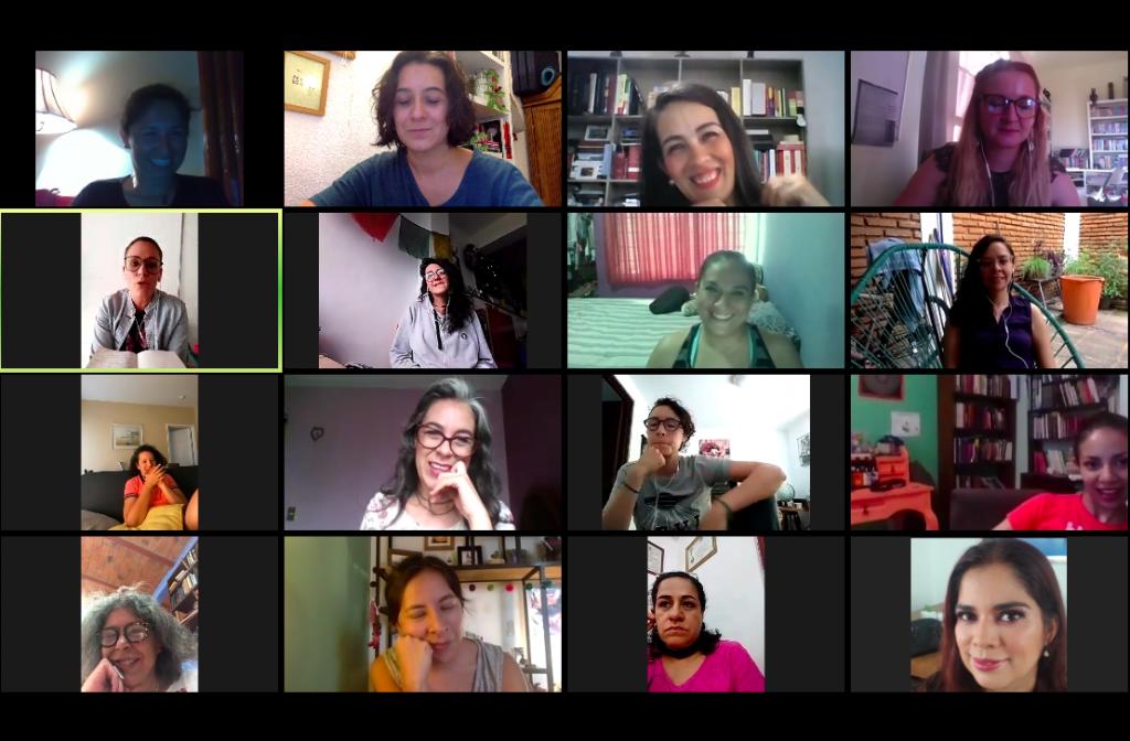 Screenshot ELLA Talks virtuales ELLA Mexico