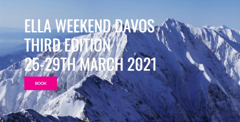 Cartel ELLA Weekend Davos
