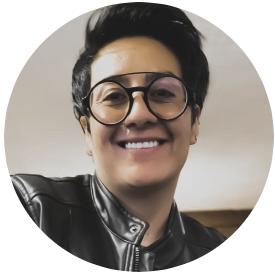 Dian Romero - community manager ELLES trans Mexico