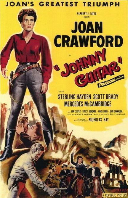 cartel de la pelicula LGBT Johnny Guitar