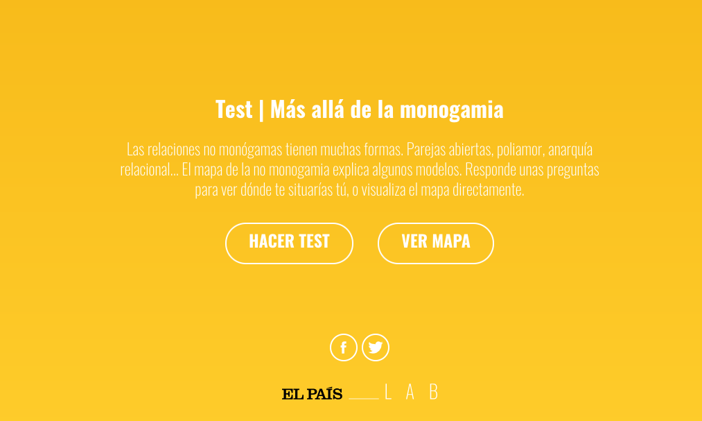 Call to action para el Test de poliamor