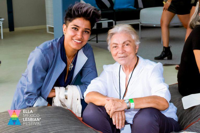 Beth Cravioto y Gloria Careaga en ELLA Mexico