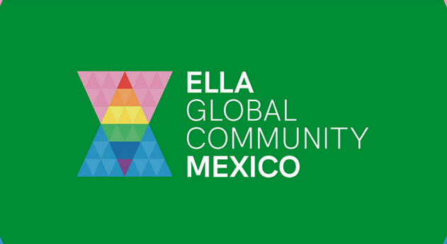Logo verde ELLA Global Community Mexico