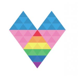 Corazón de colores variacion logo EGC