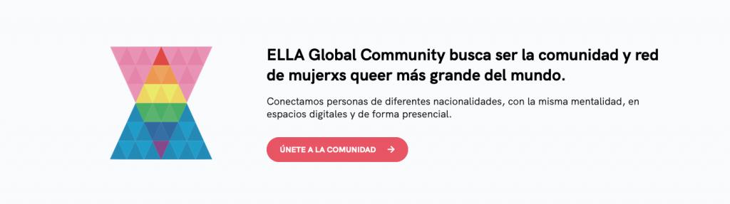 call to action para que las usuarias puedan registrarse a nuestra newsletter con todas las noticias para mujeres lesbianas, bisexuales, transexuales, queer, polysexuales, demisexuales